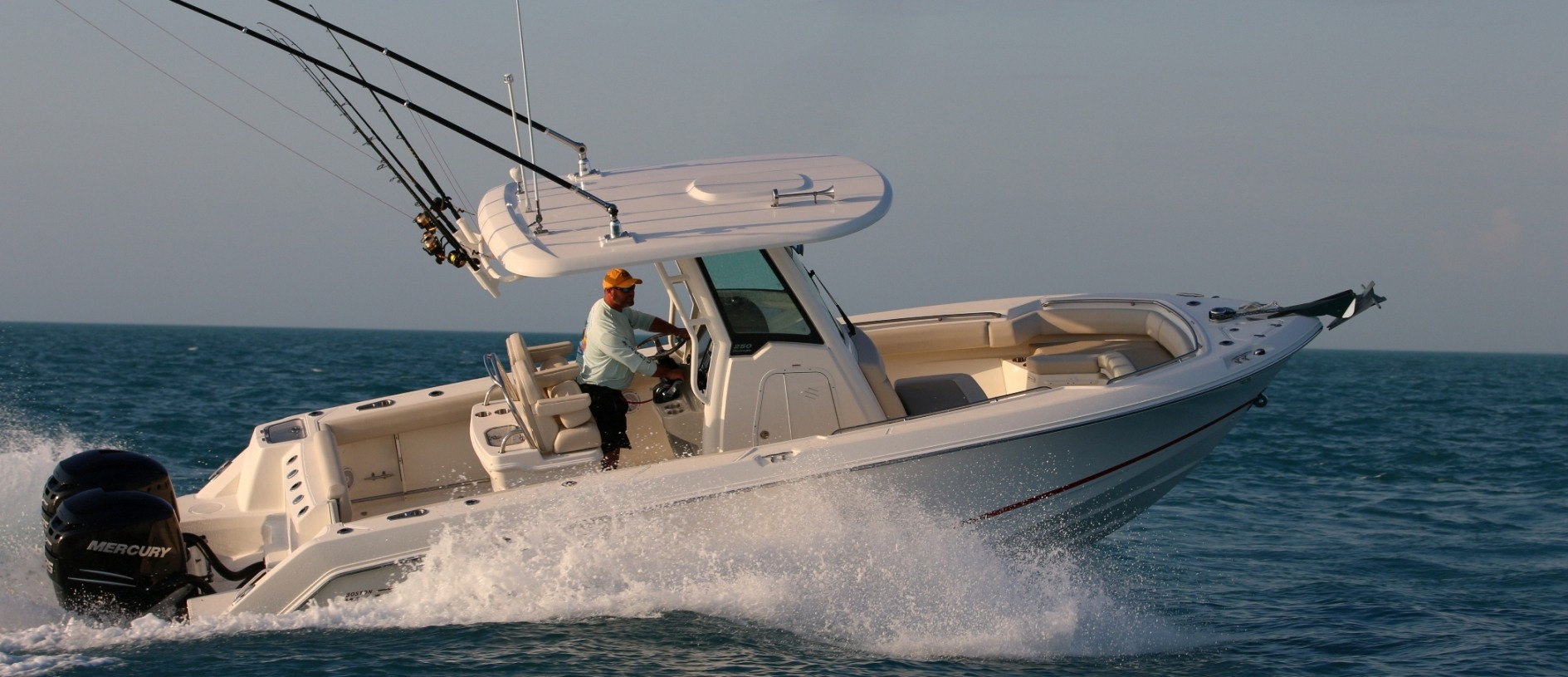 250 Outrage Boat Model | Boston Whaler