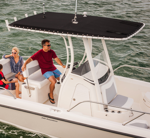 240 Dauntless Boat Model | Boston Whaler