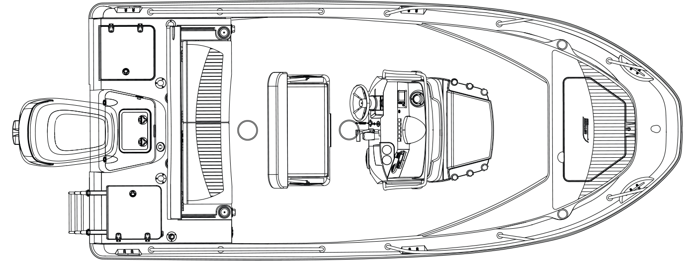 Deckplan_180-Dauntless  Boston Whaler Outrage Wiring Diagram Specifications on