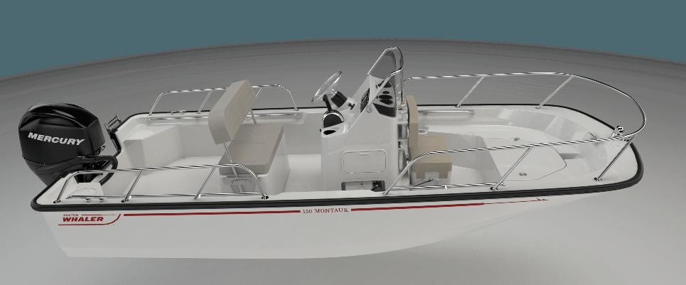 150 Montauk | Boston Whaler | Versatile Fishing Boat