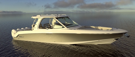 Boston Whaler® unveils 380 Realm at the Miami International Boat