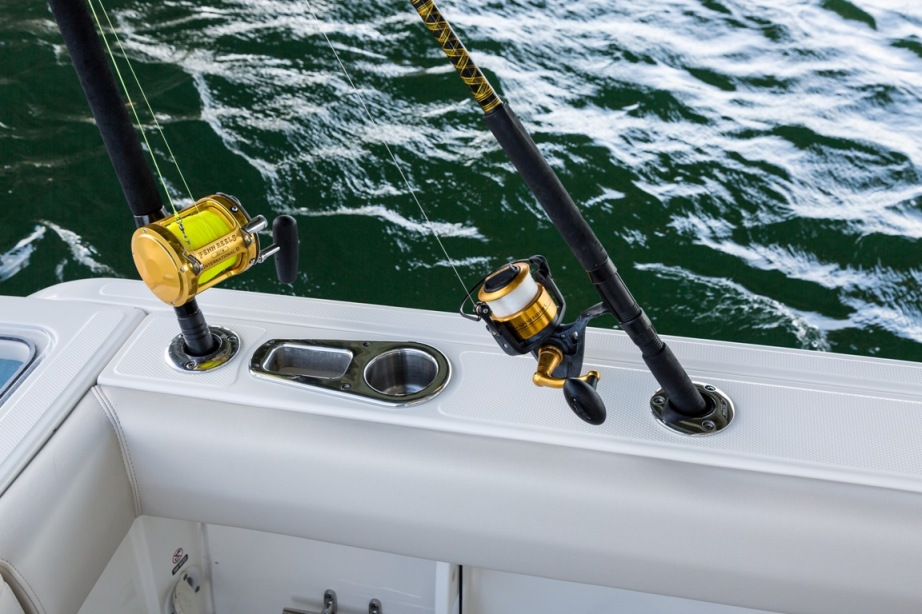 stainless steel fishing rod holders