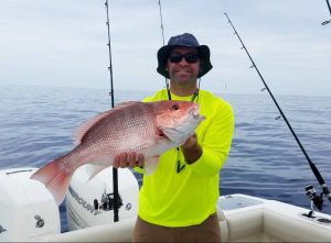 Owner-submitted picture of their best fishing catch of a red snapper